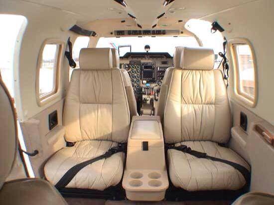 Inside Plane Wallpaper