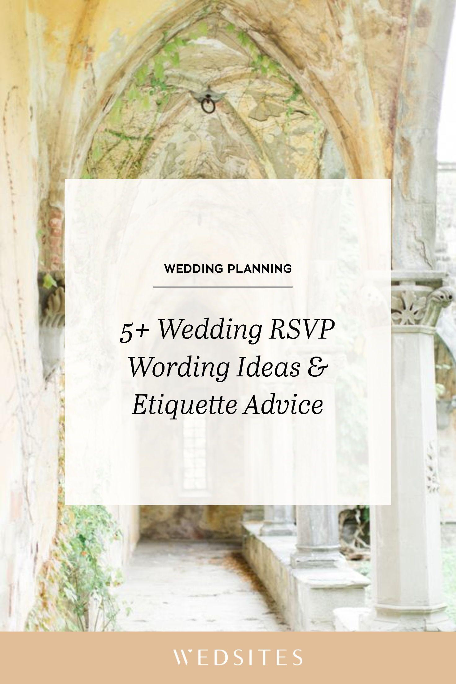 5+ Wedding RSVP Wording Ideas & Timeline Etiquette Rsvp