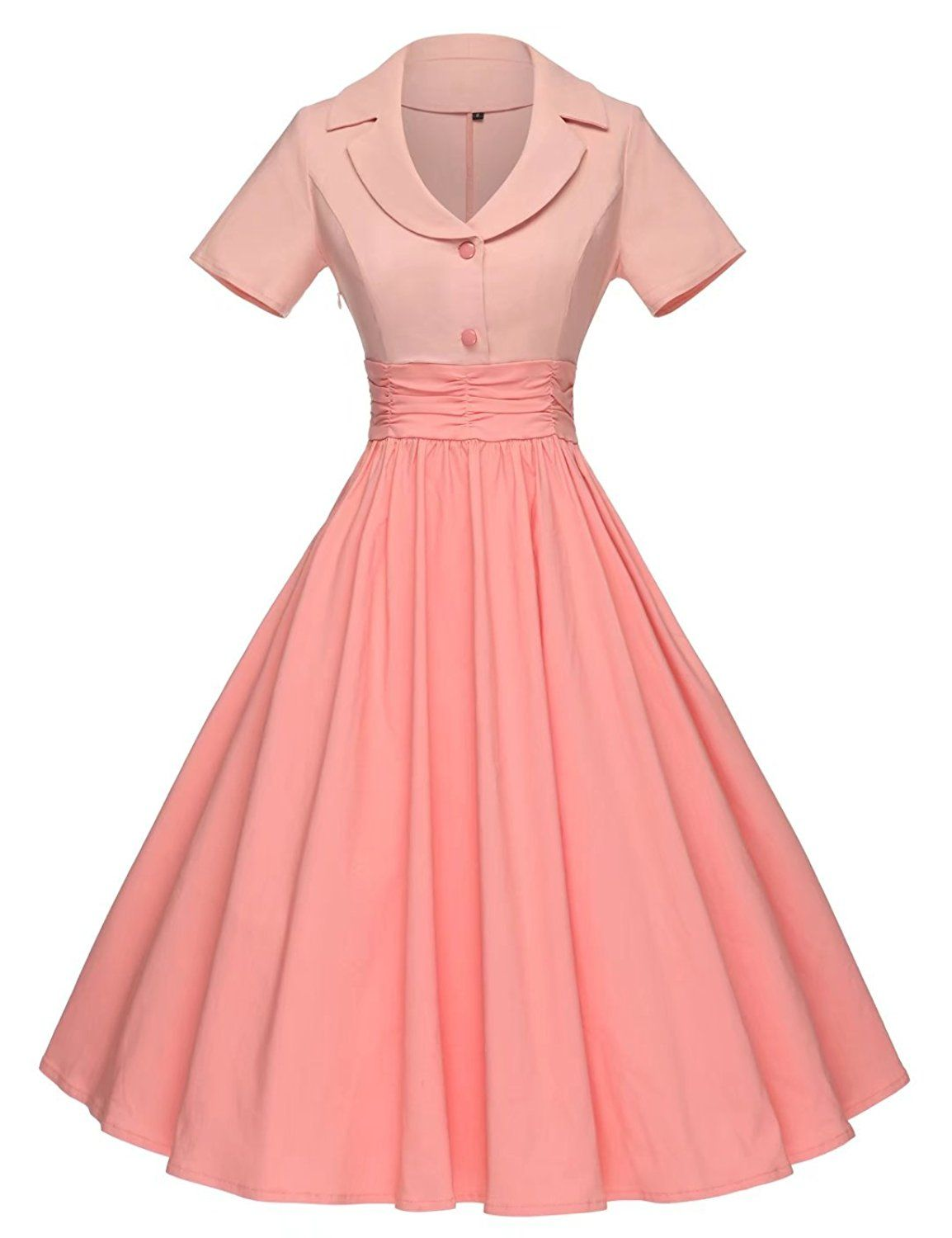e5a9419d9d0f GownTown Women Splicing Swing Dress Party Picnic Cocktail Dress at Amazon  Women's Clothing store: