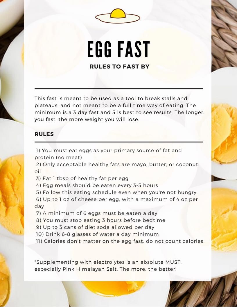 does eggs a low carb diet