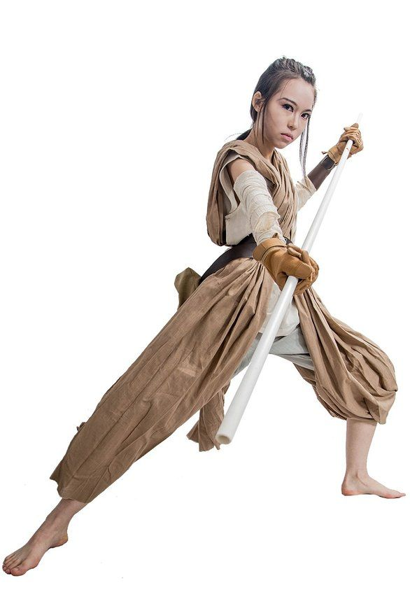 How to Make Your Own Star Wars Rey Costume | Rey costume diy, DIY ...