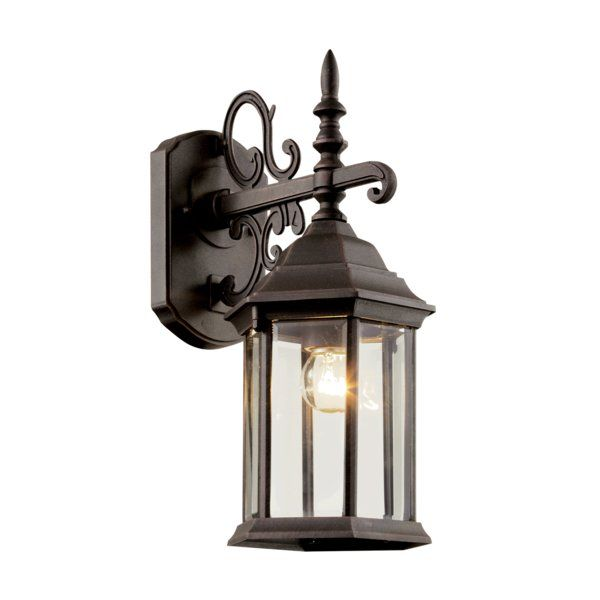 Youll love the bloomquist 1 light outdoor wall lantern at wayfair great