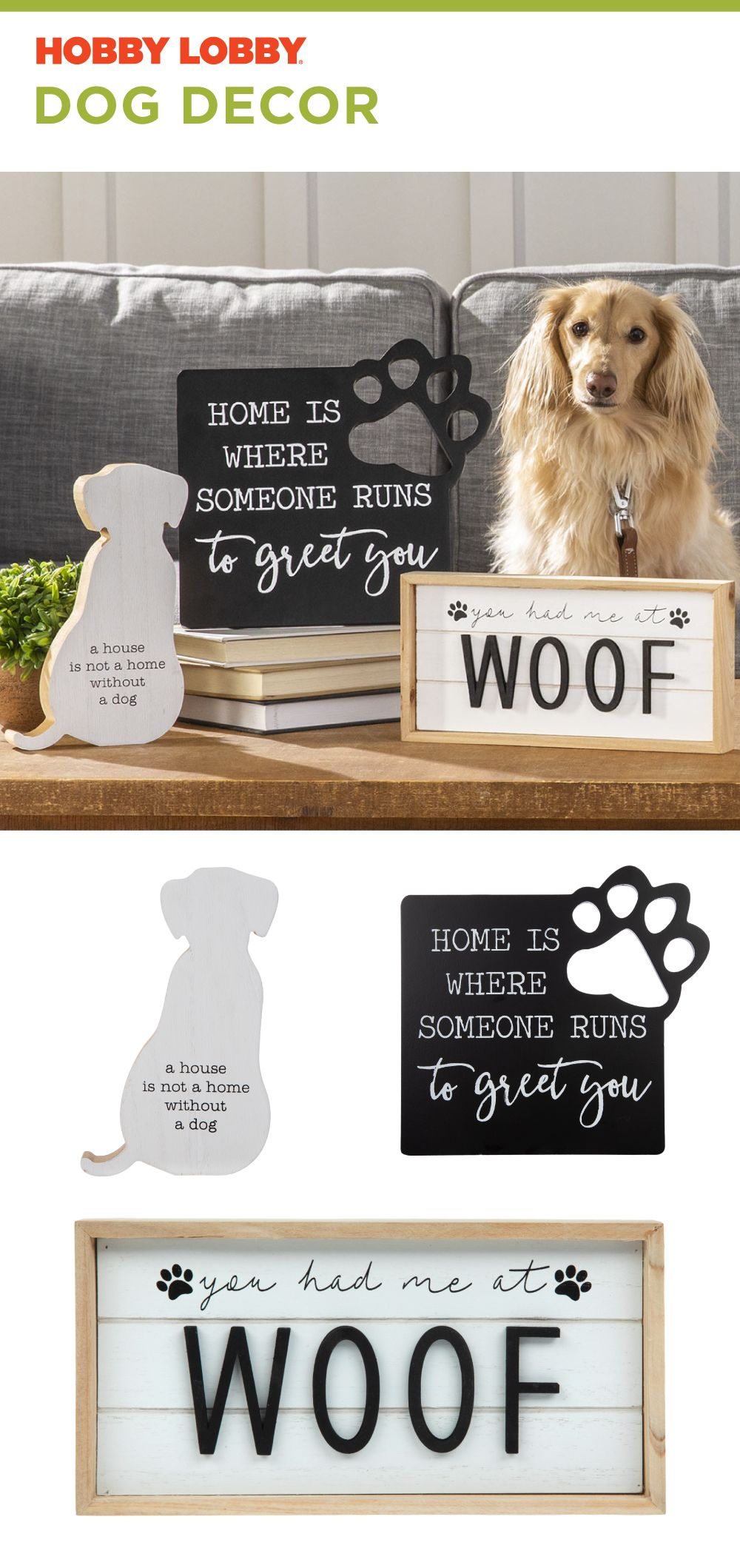 Help Your Best Friend Feel Like Part Of Your Home With Dog Decor