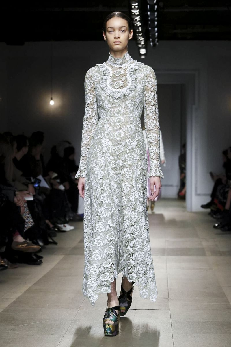 Erdem ready to wear fall winter london couture fashion