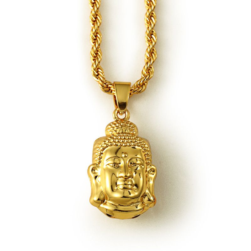 Jfy gold color buddha charms pendant necklace fashion jewelry retro jfy gold color buddha charms pendant necklace fashion jewelry retro vintage jewelry religious buddha accessories jewelry mozeypictures Choice Image