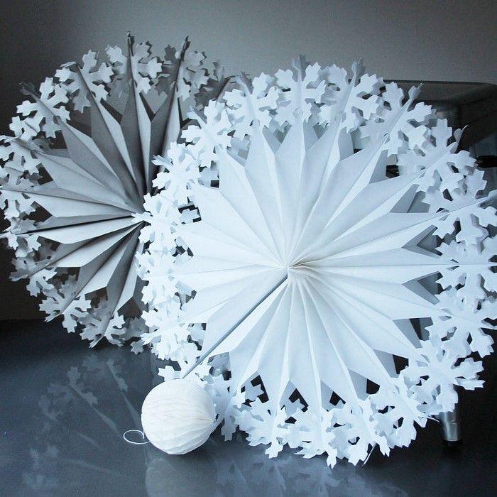▷ 1001 + Ideen für Basteln mit Papier zum Wiehnach