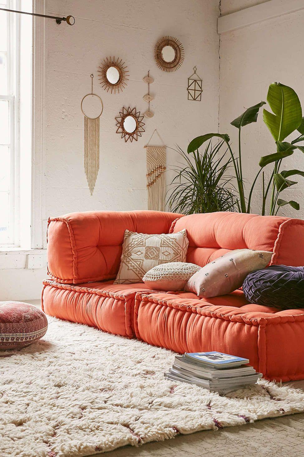 Reema Floor Cushion インテリア 家具 居間 インテリア ベッド