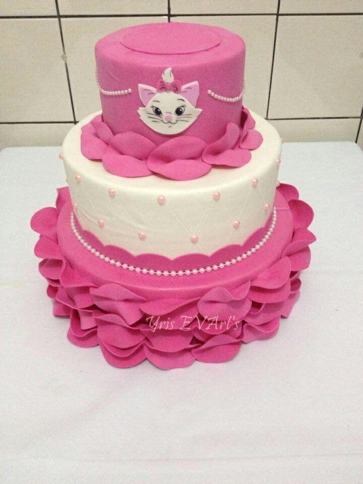 Resultado de imagen para tortas+de+gato   Fiesta Marie   Pinterest ...
