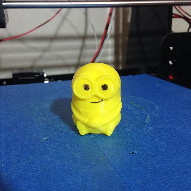 Something we liked from Instagram! Un nuevo integrante a la familia!! #minion #3dprintminion #3dprinting #3ddesing #followme #3dprint #makers #thingiverse #3dfilament #PLA #PLAamarillo #3dprinter #impresion3d by abcprint3d check us out: http://bit.ly/1KyLetq