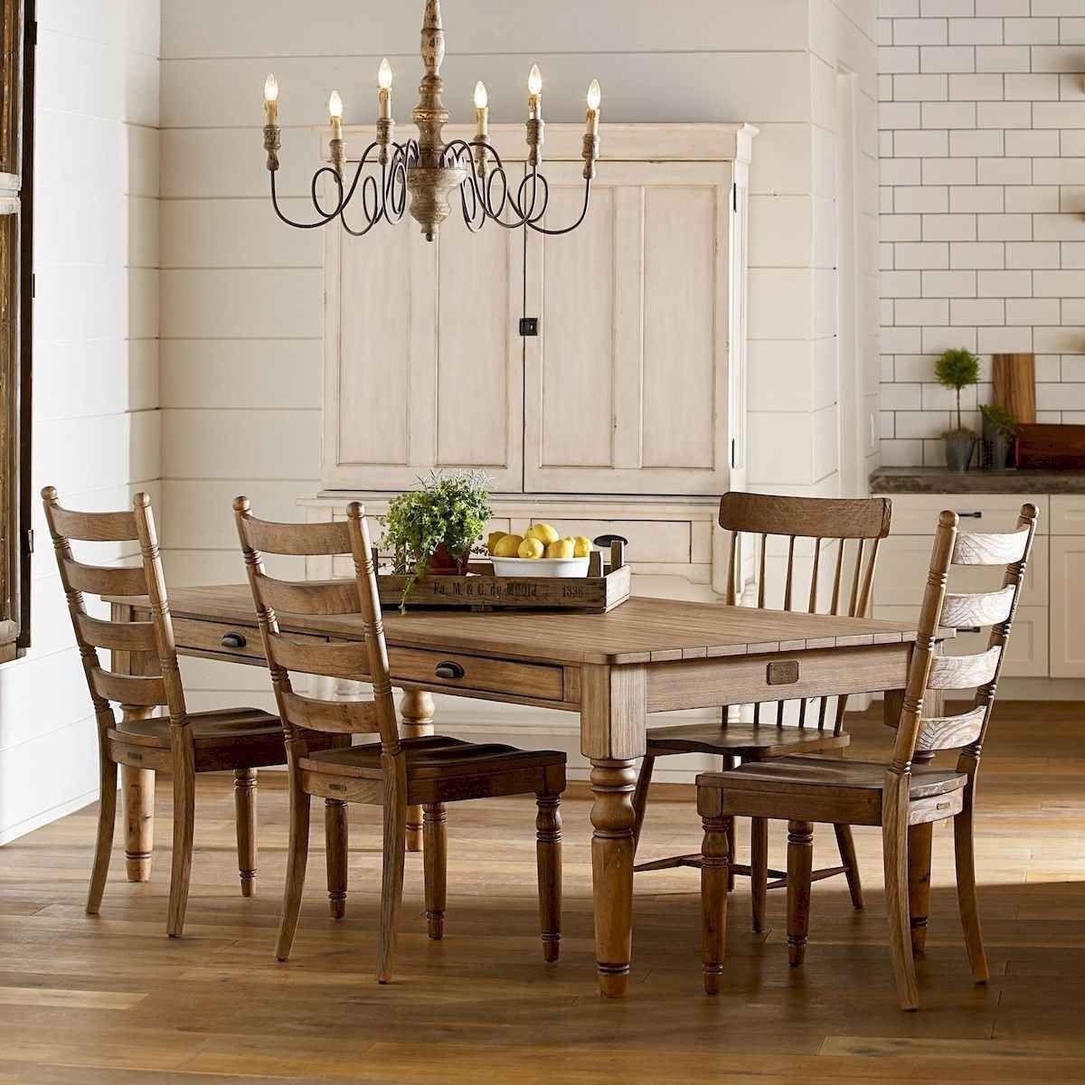 60 Modern Farmhouse Dining Room Table Ideas Decor And Makeover In 2020 Farmhouse Dining Room Farmhouse Dining Room Table Modern Farmhouse Dining