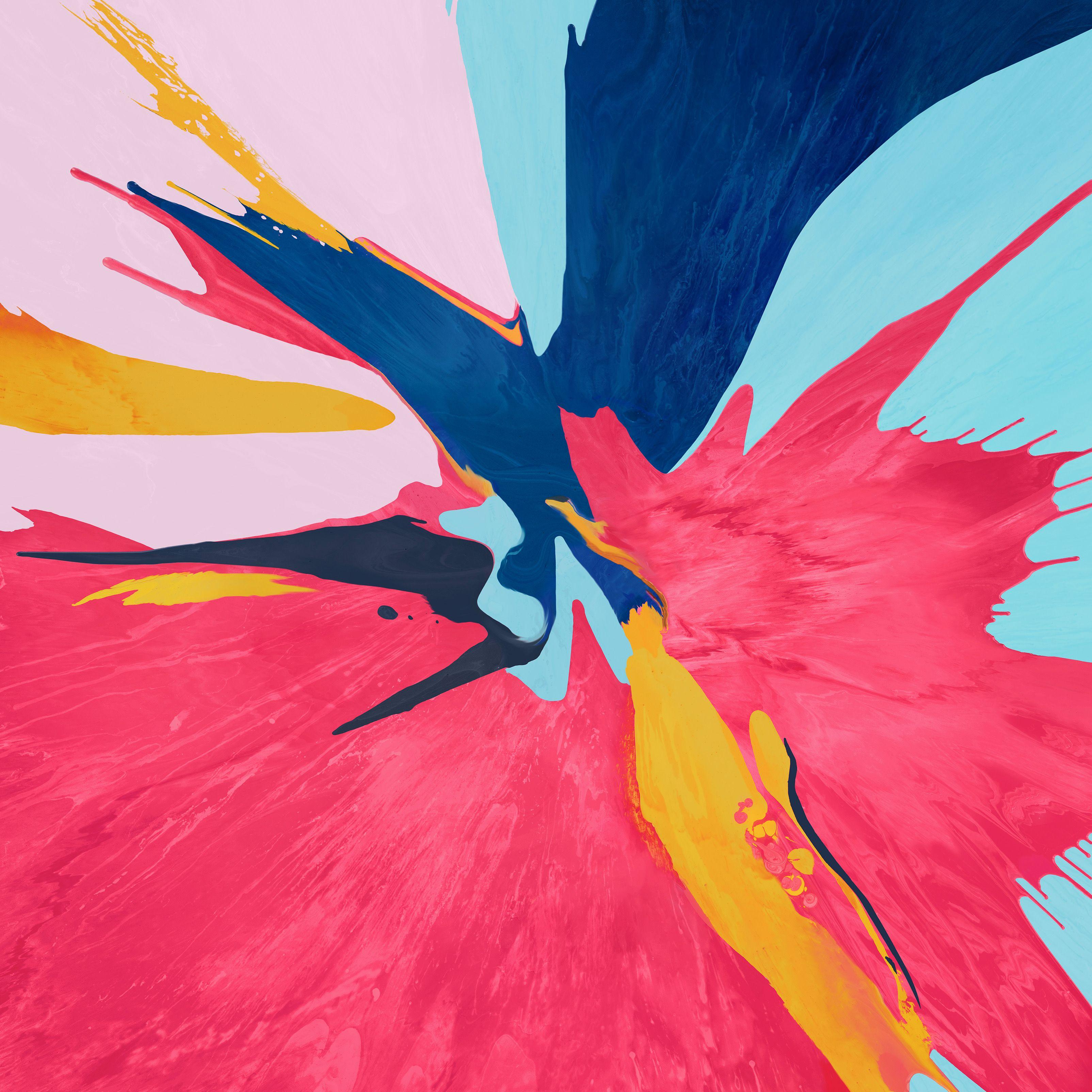 IPad Pro (2018) wallpaper Абстрактное, Обои, Мас обои