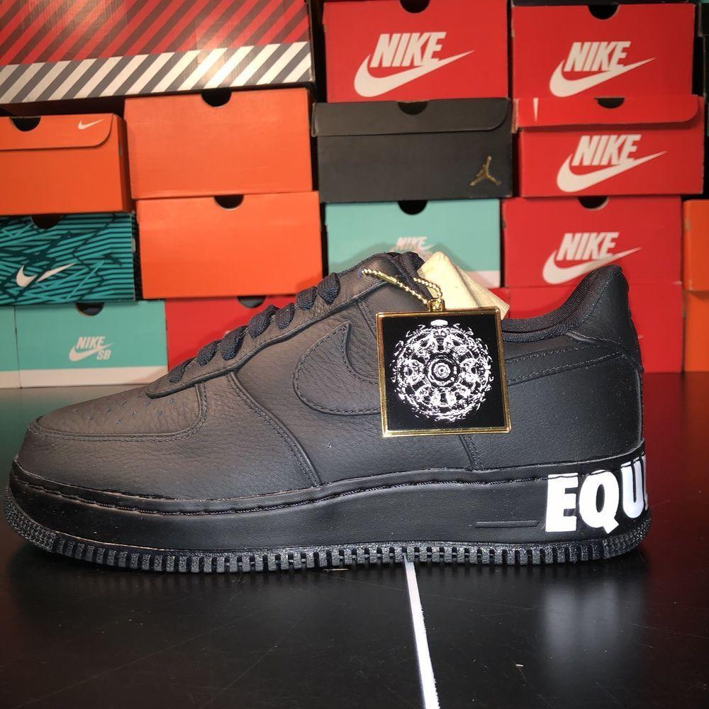 fd62f307b1a0 Nike Air Force One 1 CMFT Equality QS  AQ2125-001  Mens Size 10 ...