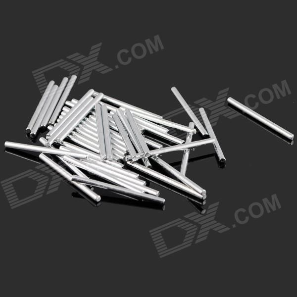 Rectangular 20mm Long Iron Axles - Silver (40PCS) . Electronic accessories for DIY enthusiasts.. Tags: #Hobbies #Toys #R/C #Toys #Other #Accessories