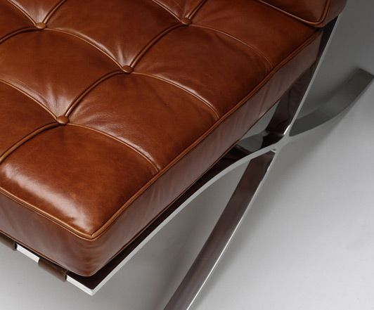 Vintage Full Aniline Leather For Our Barcelona Chair