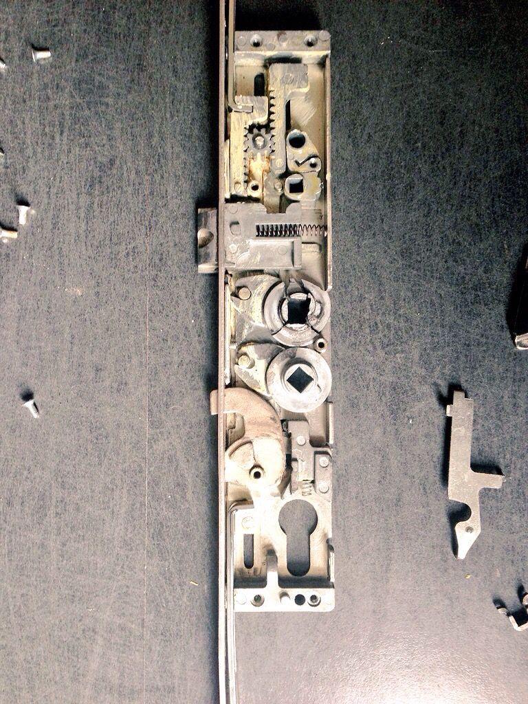 Replacing Broken Upvc Door Mechanism Call Anytime For