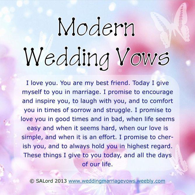 Wedding Vow Ideas.Modern Wedding Vows Ideas