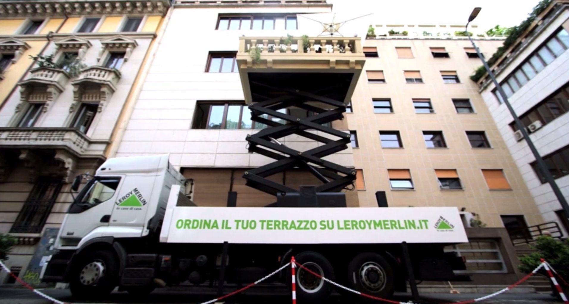Balconyexpress For Leroy Merlin Italia Guerrilla Marketing And  ~ Redes Para Balcones Leroy Merlin