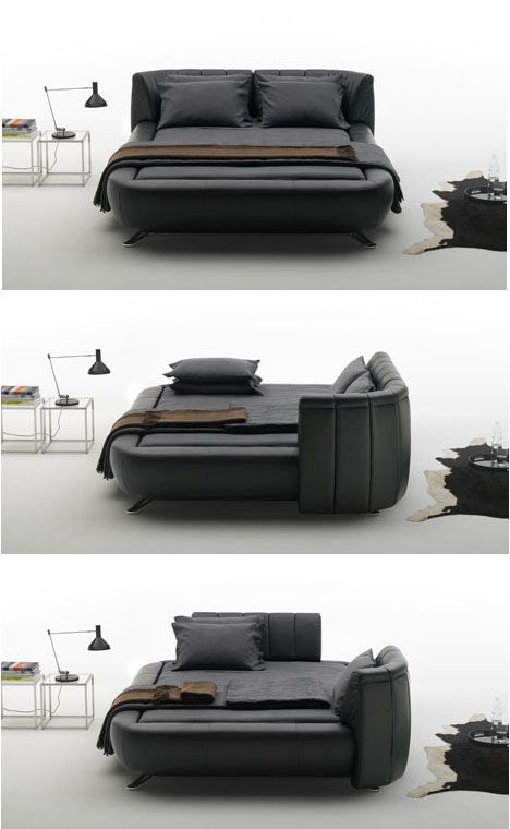 5f3d81a13f8 Mobile Headboards Split Beds into Soft Sofas   Solo Spaces ...