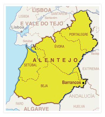 Alentejo Mapa Buscar Con Google Alentejo Algarve Mapa
