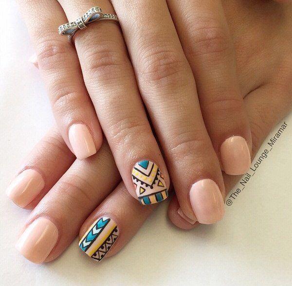 40 nude color nail art ideas nude nails nail nail and fun nails 40 nude color nail art ideas prinsesfo Choice Image