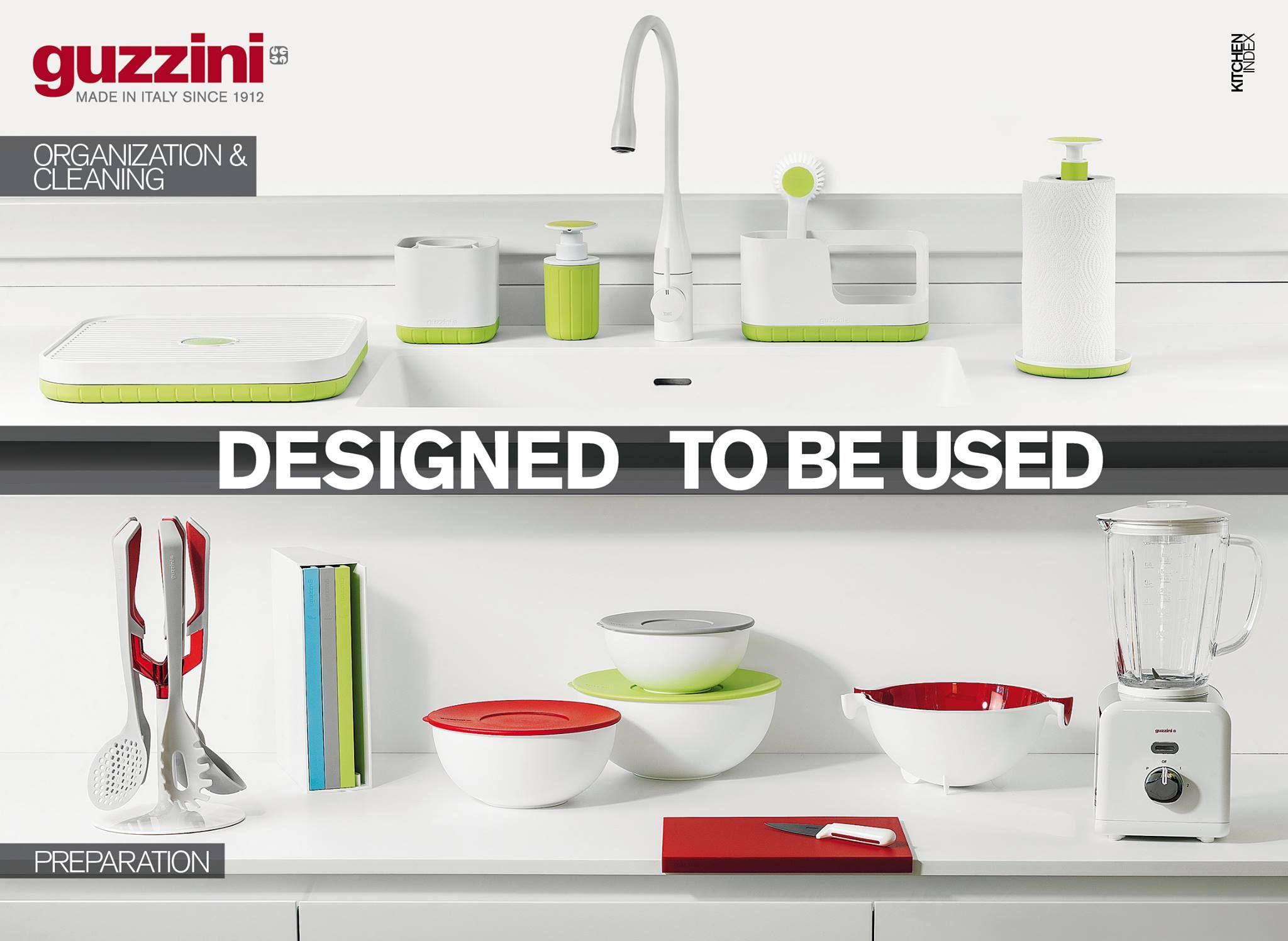 My Kitchen è la linea Guzzini che promette di facilitare la ...