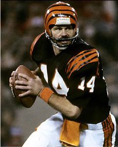 Ken Anderson Cincinnati Bengals | All Time Great NFL Quarterbacks  free shipping