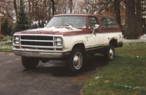 1980 dodge ramcharger | 1980 Dodge Ramcharger | Flickr - Photo Sharing!