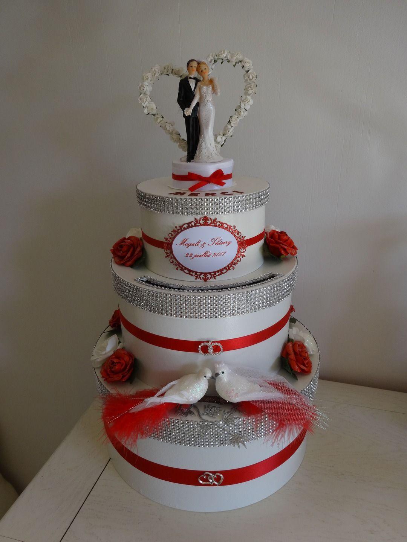 Urne De Mariage Façon Wedding Cake Parti Urne Mariage