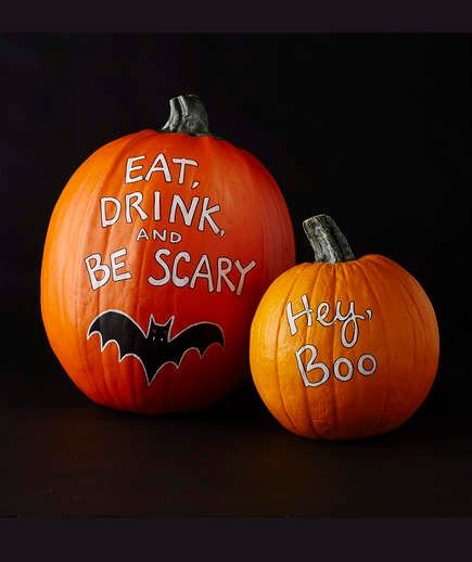 Diy Pumpkin Painting Ideas That Are Way Easier Than Carving