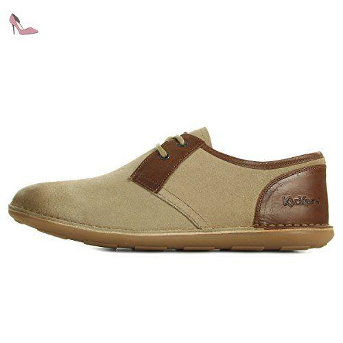 Chaussures Kickers Swibaif Beige C3qF6CJVuf