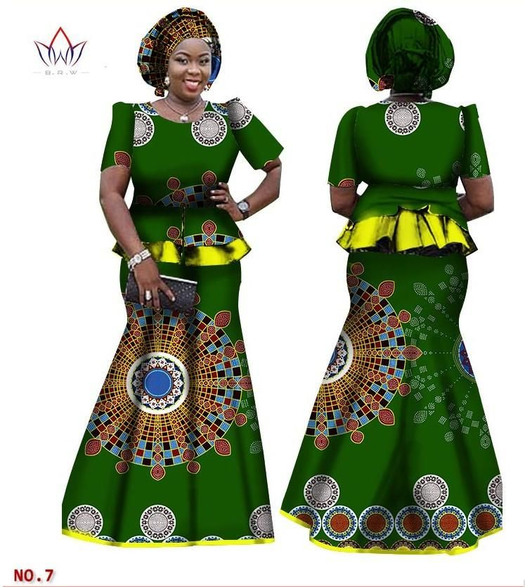 807f2219ea6 African Women Skirt and Blouse