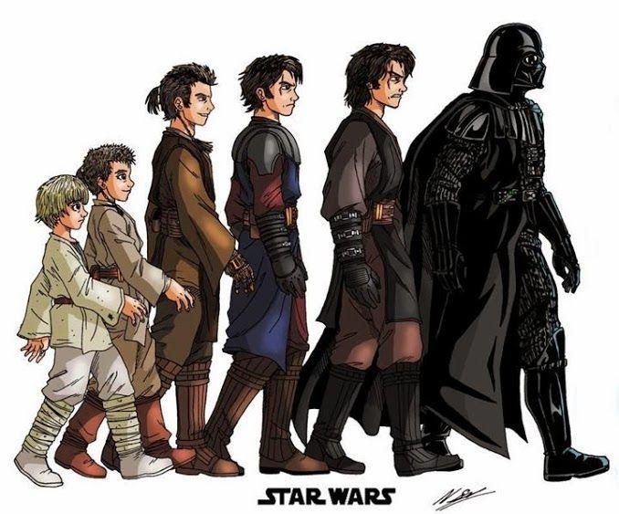 Anakin Becoming Darth Vader With Images Star Wars Marathon