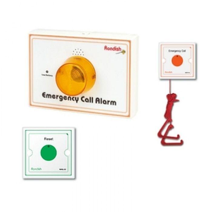 Bathroom Emergency Pull Cord Alarm with Wireless ...