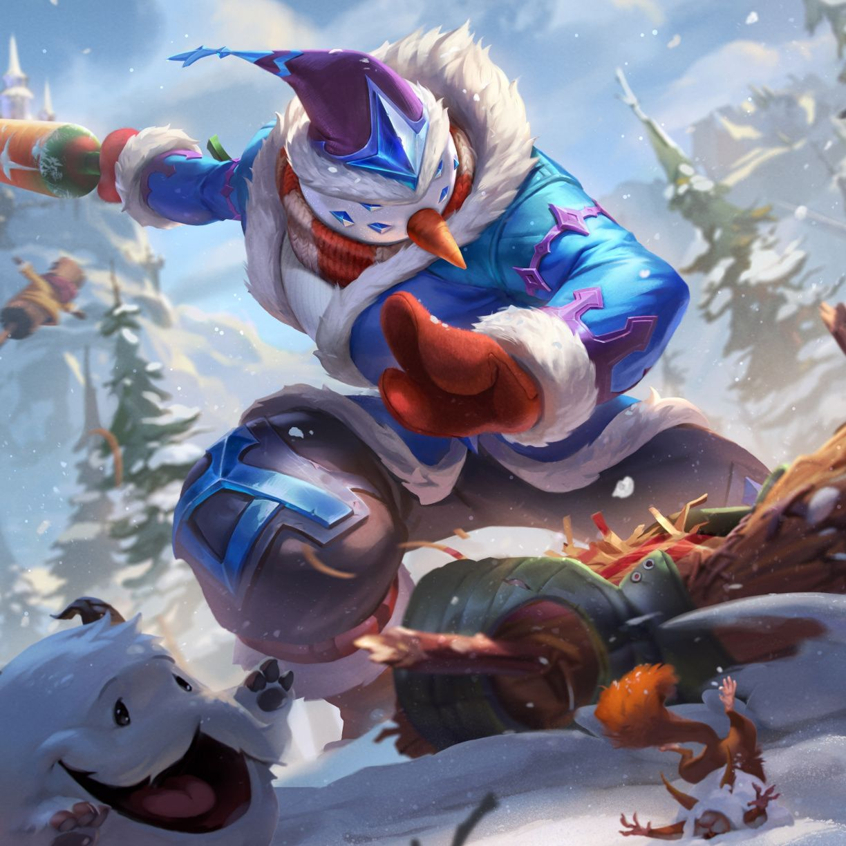 Snowman Master Yi Online Game 2018 League Of Legends 1224x1224 Wallpaper League Of Legends Lol League Of Legends Champions League Of Legends