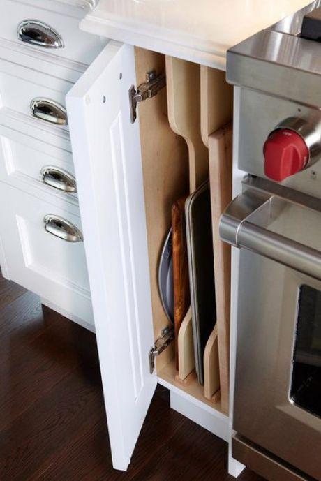 Организация хранения на кухне | Кухни | Pinterest | Küche, Haushalte ...