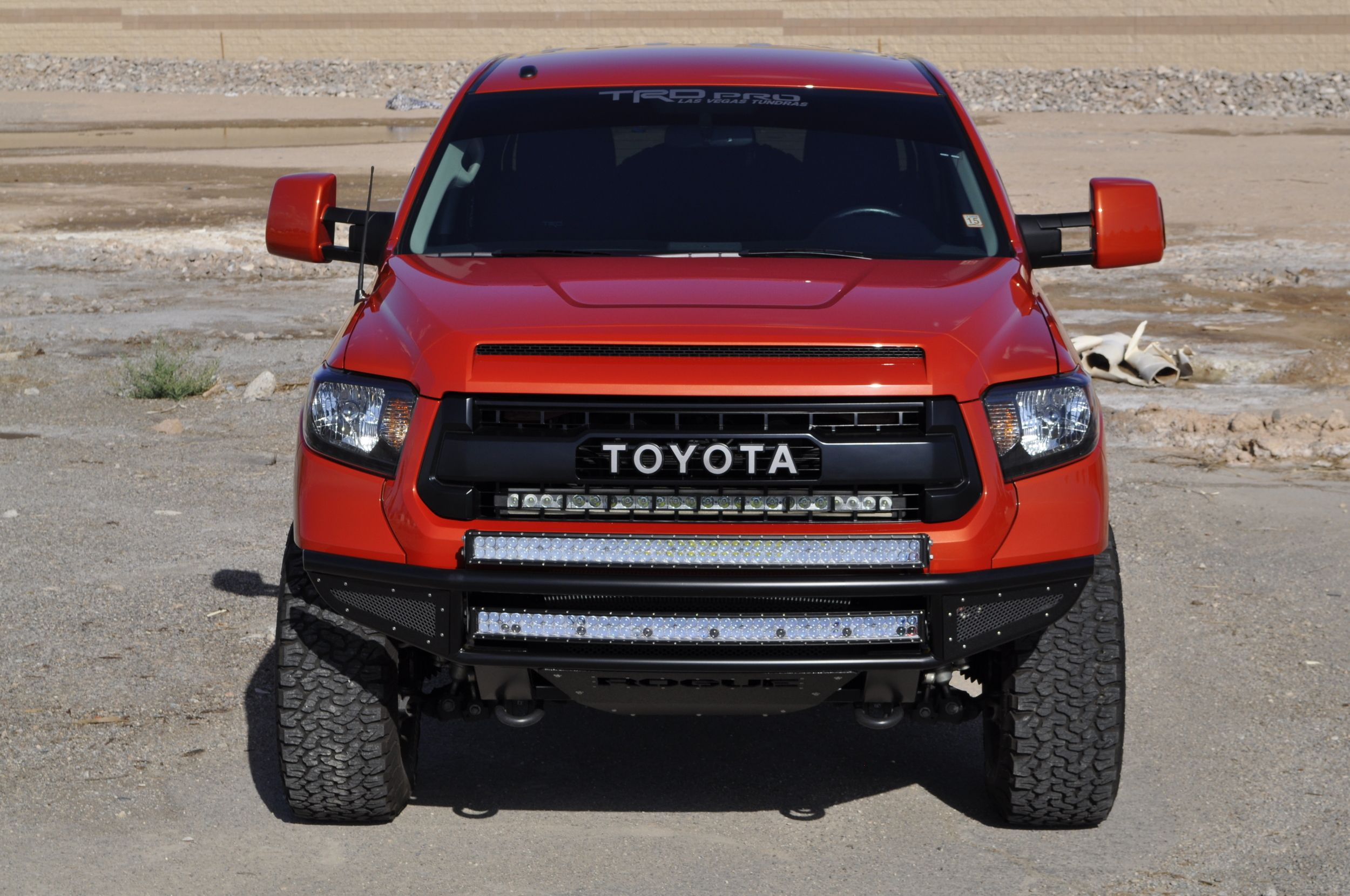 Rogue Racing Throttle Front Bumper 2014+ Toyota Tundra