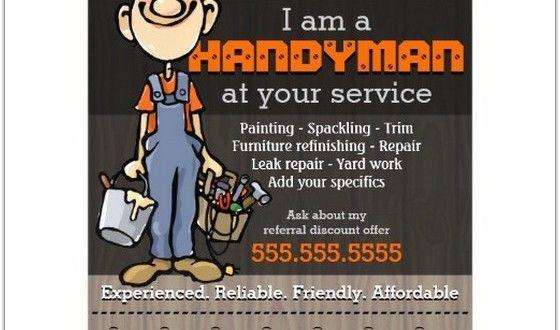 13+ Best Handyman Flyer Templates \ Designs! - web resources free - handyman flyer template