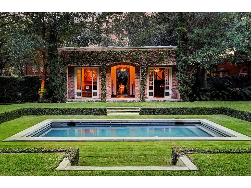 3229 Groveland Lane Houston Tx 77019 Photo Raffles Pool Pavillion Pool Houses Groveland Pool House