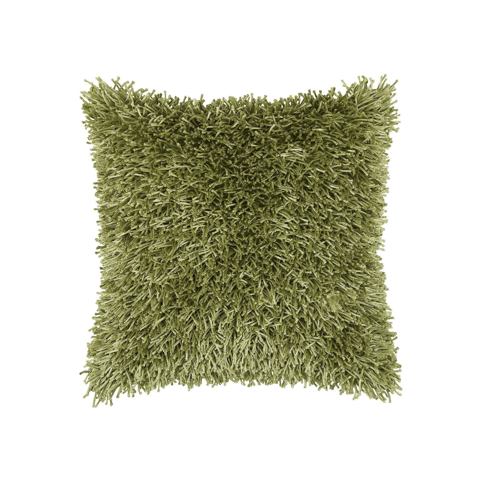 Rizzy home modern shag throw pillow throw pillows pillows and