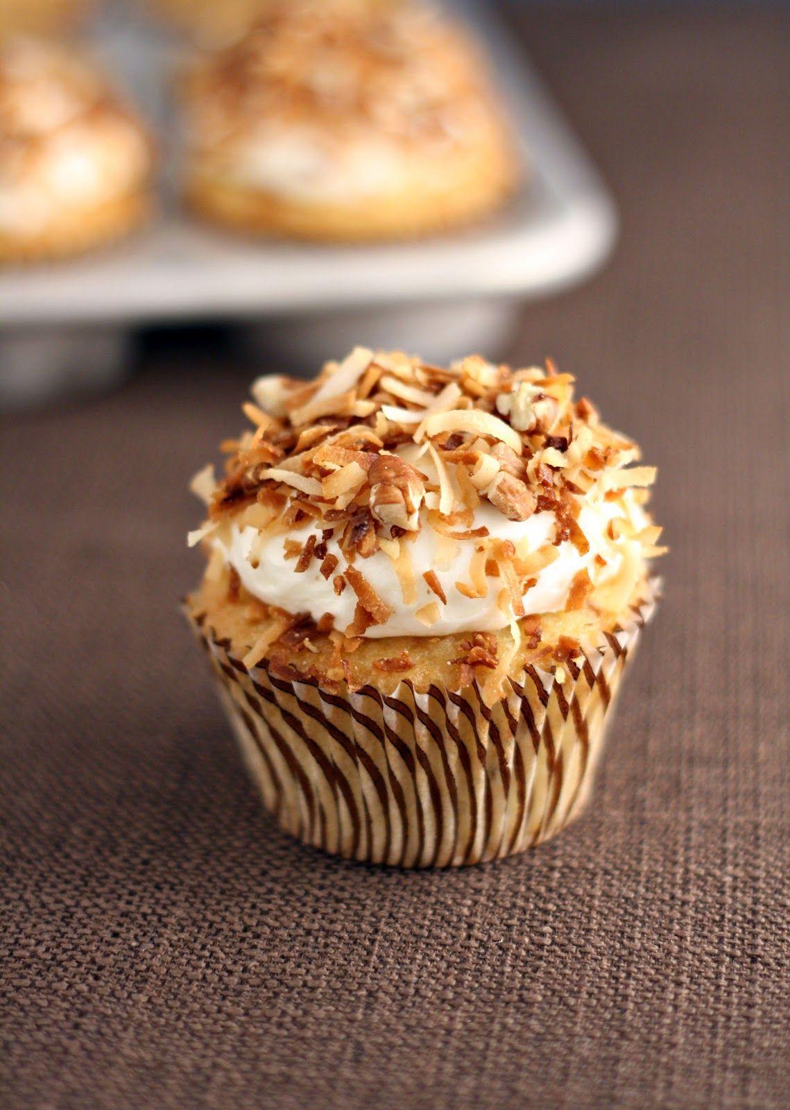dinner or dessert: italian cream cupcakes