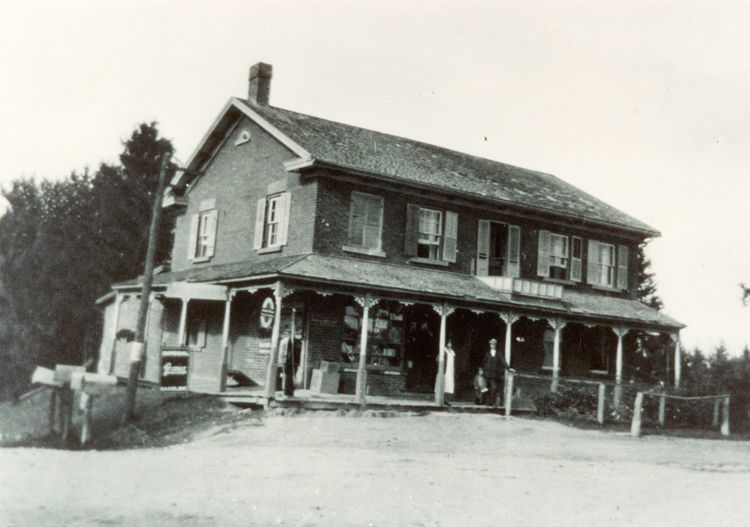the cashel general store built as a hotel in the 1830 s was used