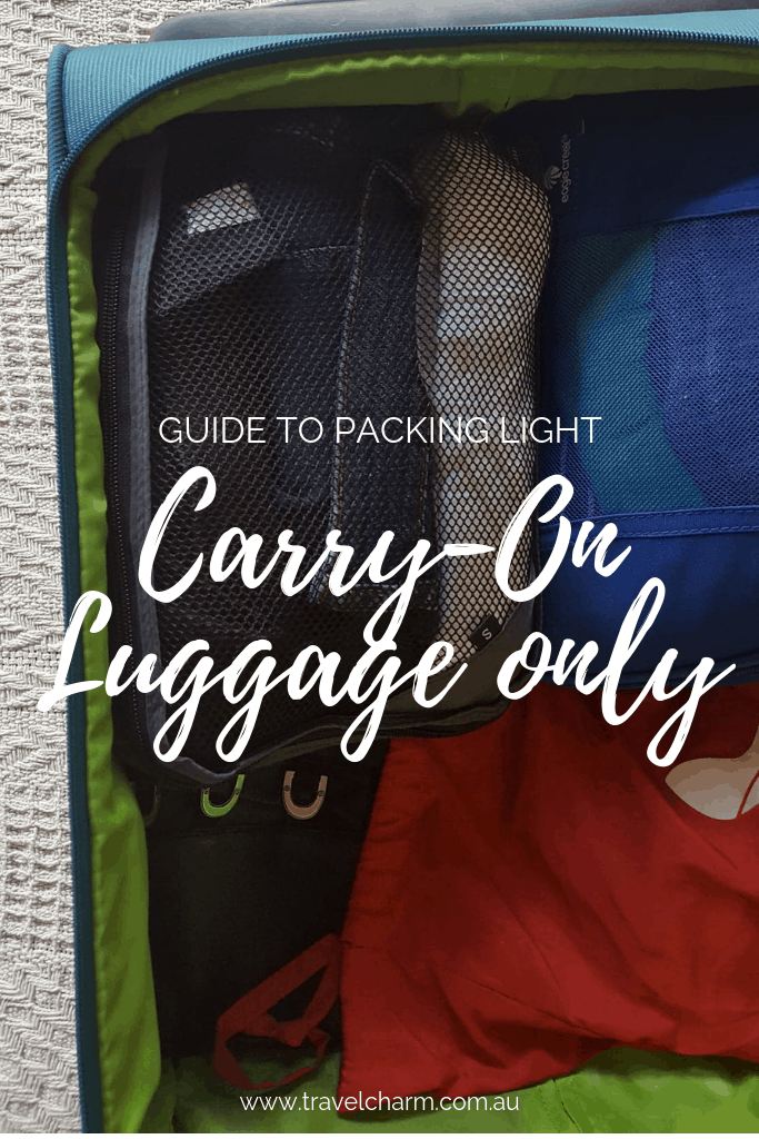 102a3ce09d5 Taking carry-on luggage makes travelling a whole lot easier. No more  dragging around large suitcases.  travel  traveltips  carryon  luggage   packing