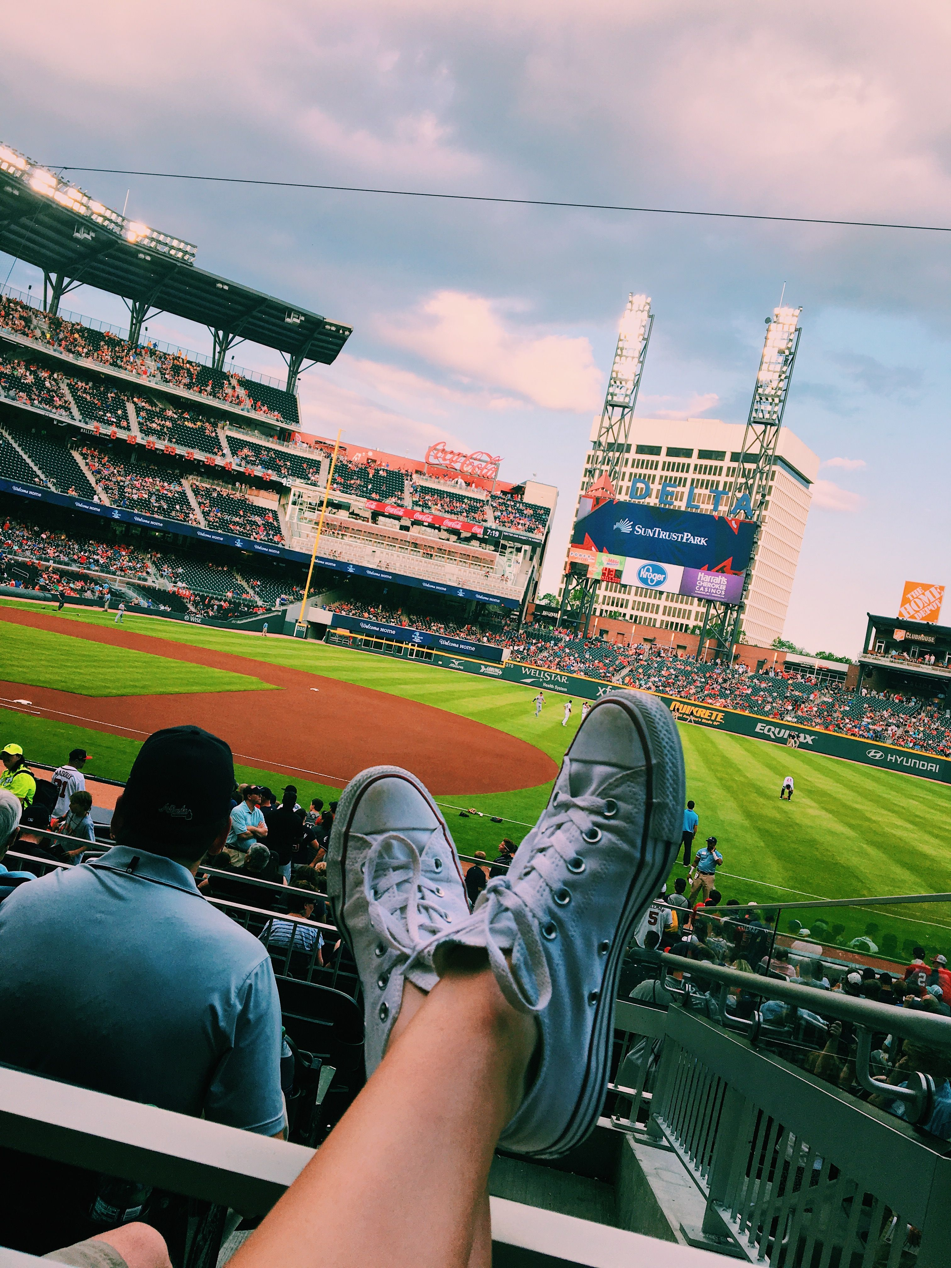 Atlanta Braves Baseball Game Ig Jessicaclaark Vsco Jessicaclarrk Baseball Games Braves Game Atlanta Braves Game