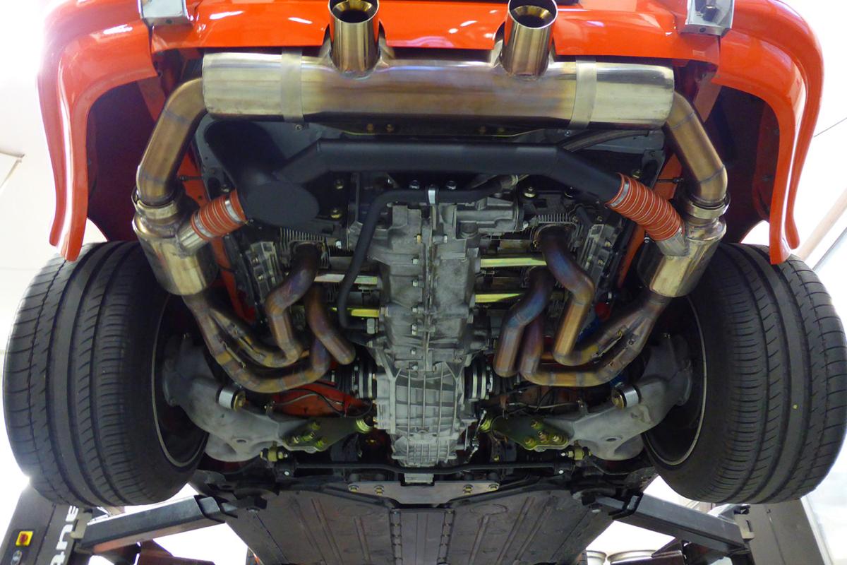 Lightspeed Classic No. 4 Porsche backdating