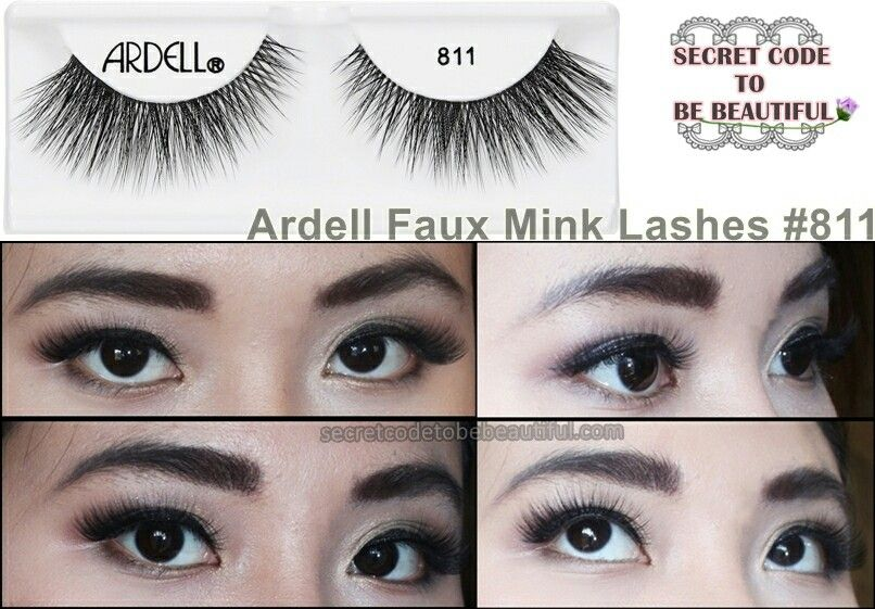 07e6a484995 Ardell faux mink lashes #811 | MAKEUP&TIPS | Lashes, False lashes ...