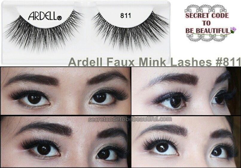 327ed4216e1 Ardell faux mink lashes #811 | MAKEUP&TIPS | Lashes, False lashes ...