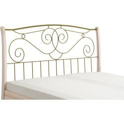 Photo of Bed frame Vintage ¦ white ¦ Dimensions (cm): W: 208 H: 129 beds> futon beds »Höffner HöffnerHöffner