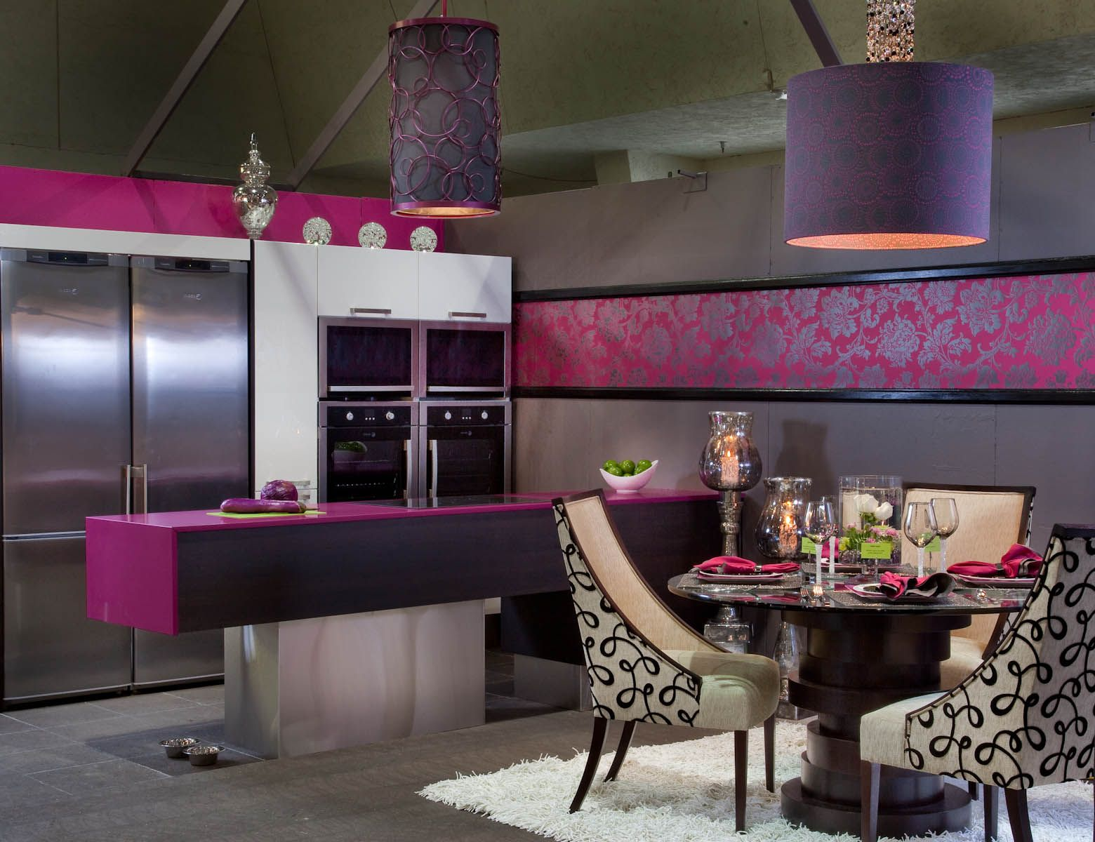 @pantonecolor of the year with Silestone Magenta ...