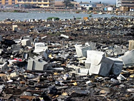 Europe S Electronic Waste Has Become Africa S Burden E Waste