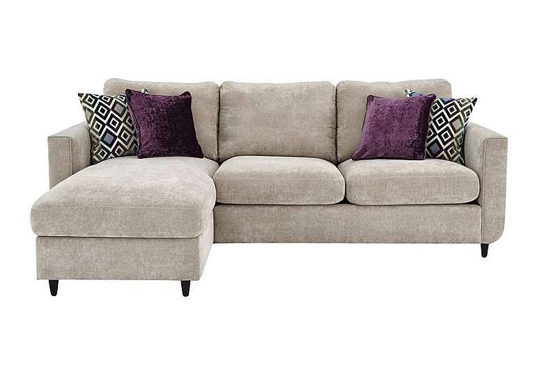 Esprit Fabric Chaise Sofa Bed With Storage Sofa Bed With Storage